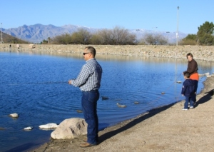 Arizona urban fishing report western outdoor times for Fishing in tucson