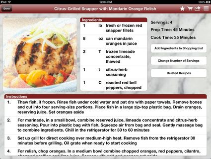 Chefmate app enhances hunters anglers lives western outdoor times okay youve caught a great tasting fish or bagged a wild turkey and are already thinking of how youll prep it either for grilling in the field or cooking forumfinder Choice Image